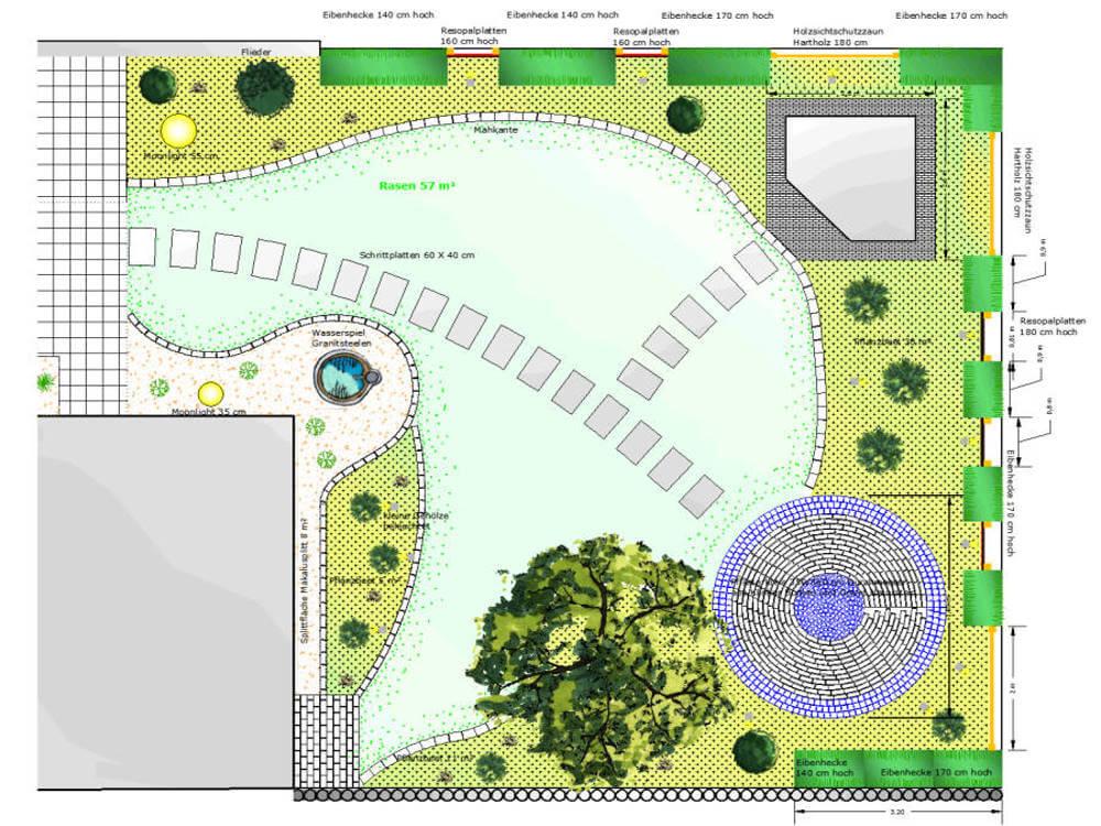 Gartenplan Kleve