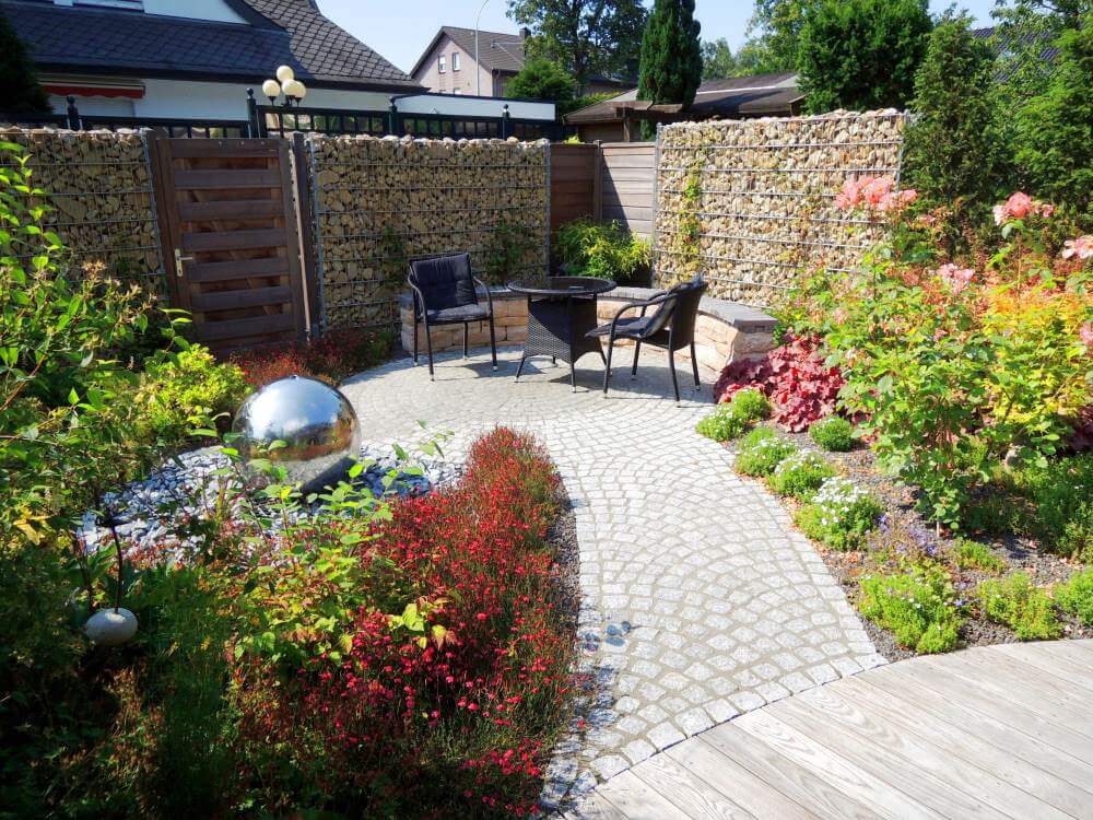 Kleine Gärten Anlegen Bilder kleinen garten gestalten galabau mähler traumgarten