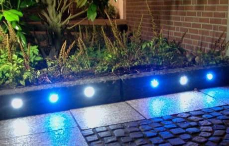LED Einbauleuchte Edelstahl