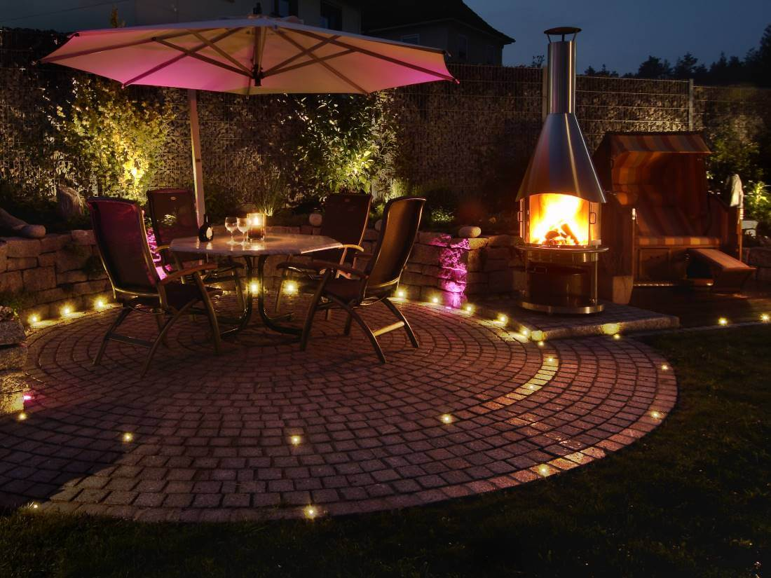 Bevorzugt LED Strahler Garten   Galabau Mähler   Gartenbeleuchtung VW96
