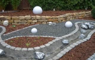 Moonlight Kugelleuchte Garten