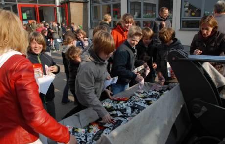 Für die Kinder der Grundschule Reichswalde eine schöne Überraschung