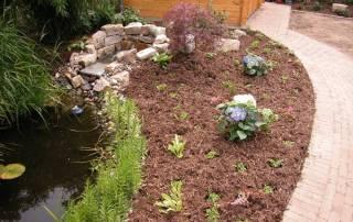 Rindenmulch für den Garten