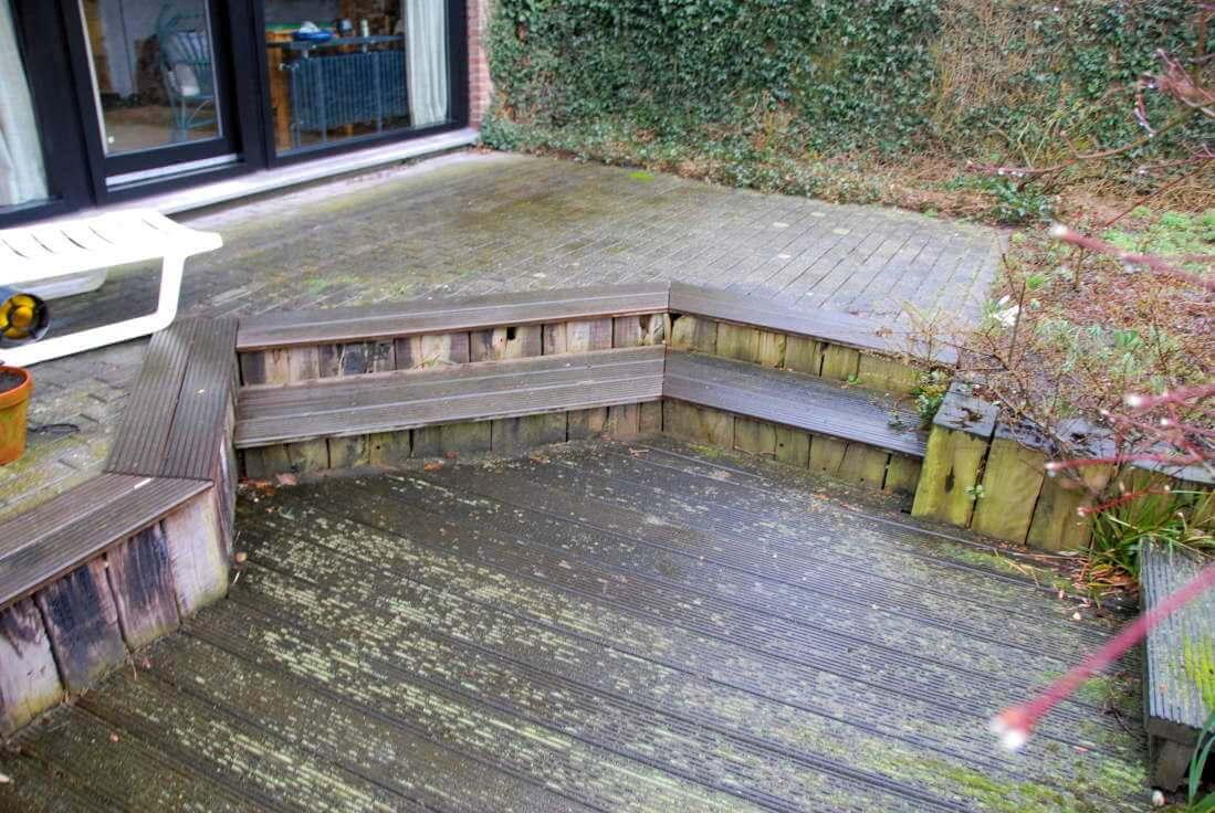 alte Terrasse neu gestalten