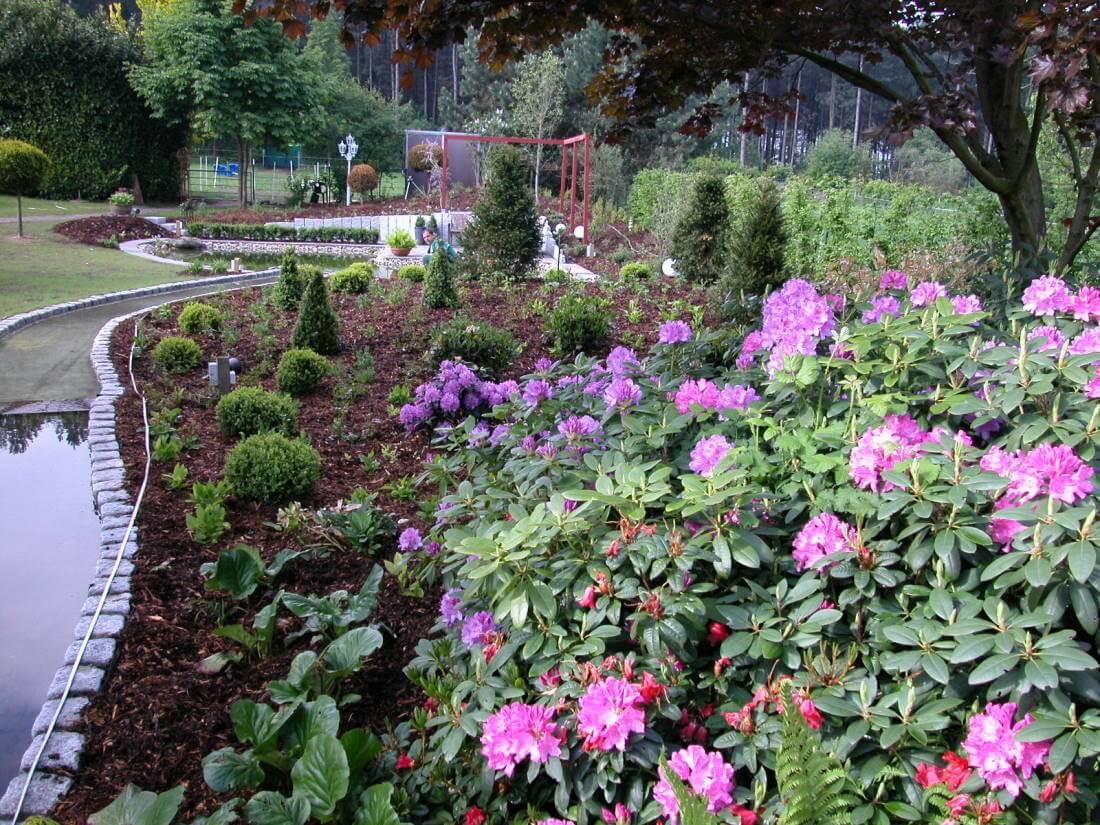 Bachlauf | Galabau Mähler | Wasserlauf Garten