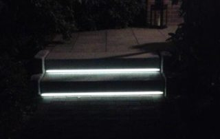 Lichtlinie Teppenstufe