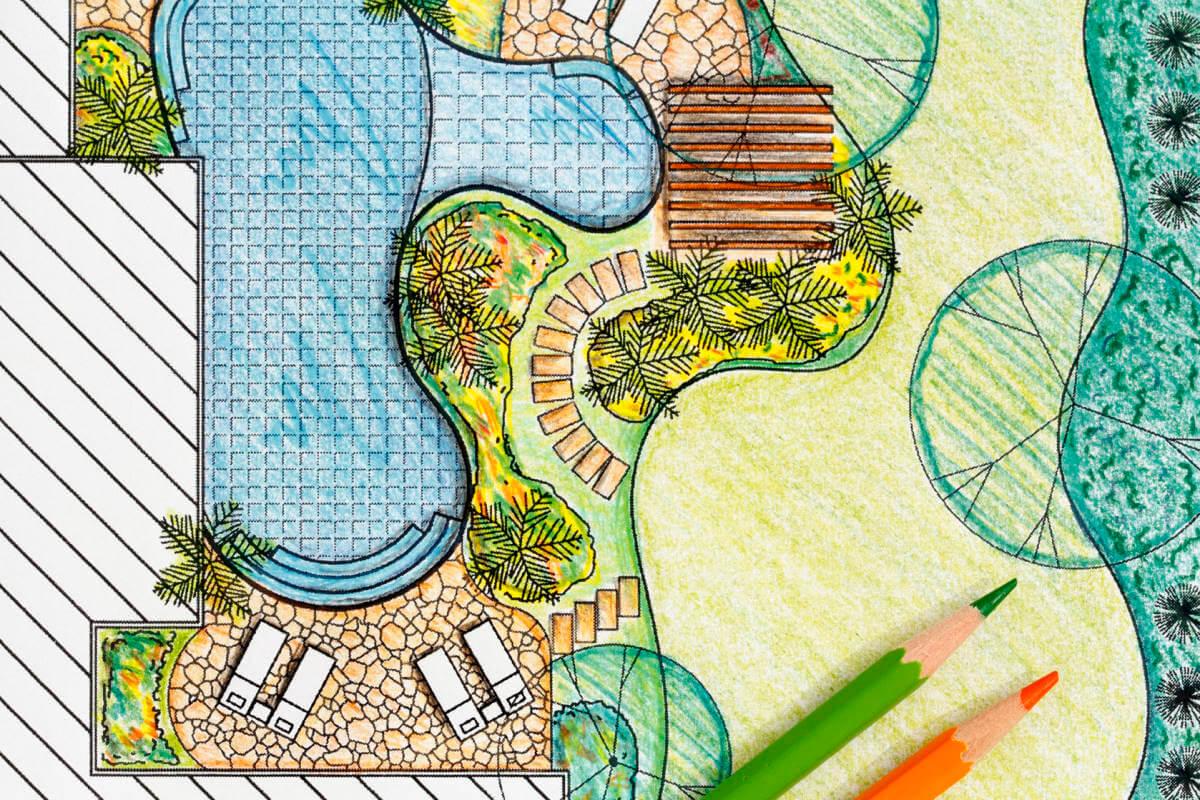 Garten planen Kleve