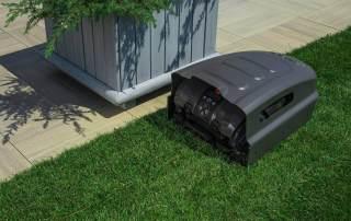 Roboter Rasen Garten