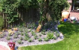 Lava Mulch Garten