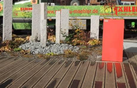 Bambusholz Garten