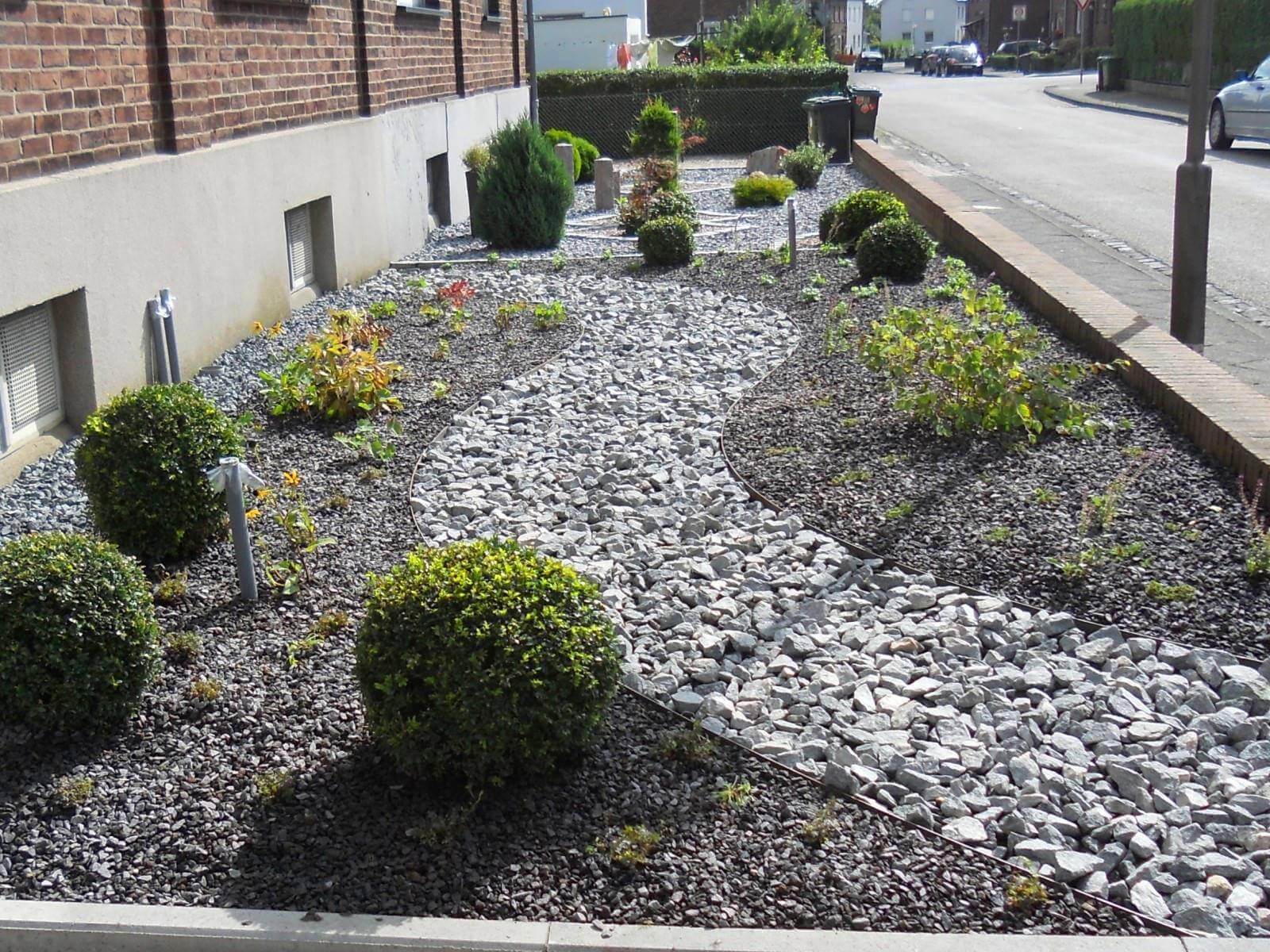Inspirierend Vorgarten Gestalten Pflegeleicht Schema