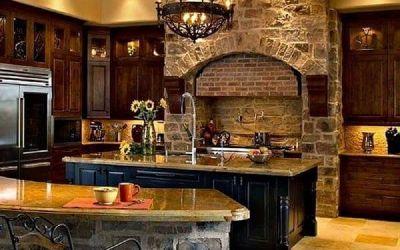 Cocinas rústicas con estilo: la combinación perfecta