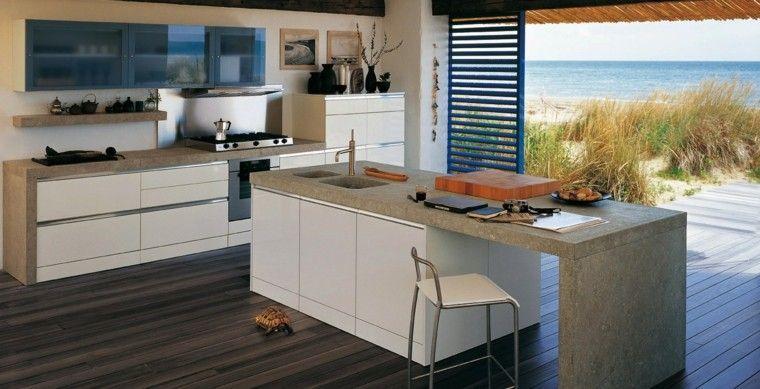 Cocinas para tu casa en la playa