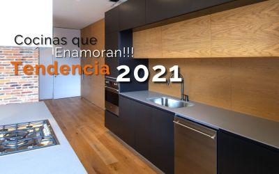 Conoce las tendencias en diseño de cocinas para este 2021