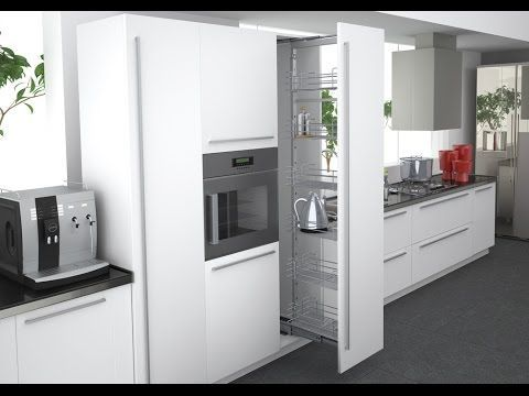Alacenas verticales, ¡espaciosas y cómodas!