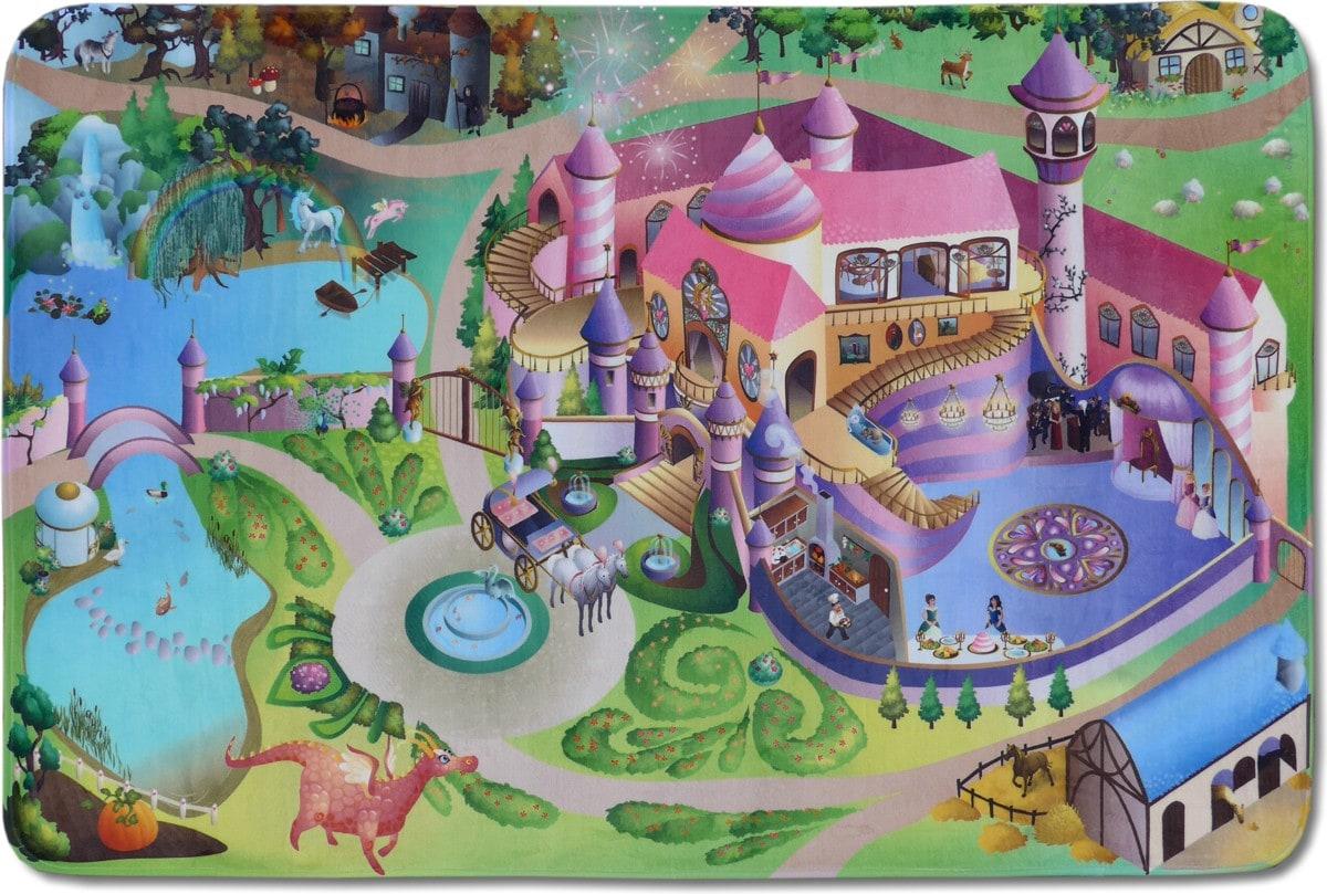 kids rug mon tapis play area princess