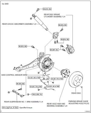 Service manual [Diagram To Change Wheel Bearing On A 2008