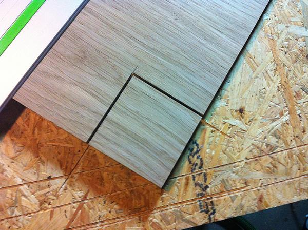 Travailler le bois table chêne Festool Trion