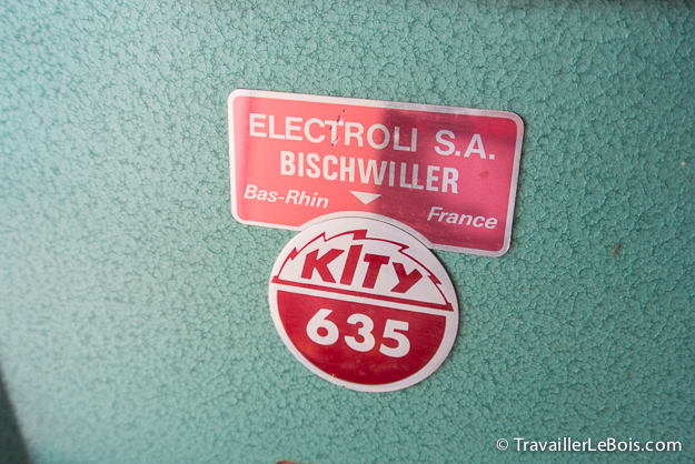 Raboteuse-dégauchisseuse Kity 635