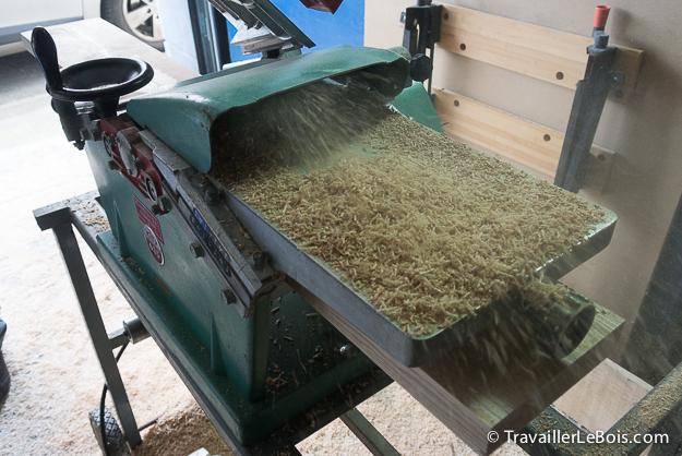Un dimanche apr s midi corroyer des planches de bois - Machine a bois kity ...