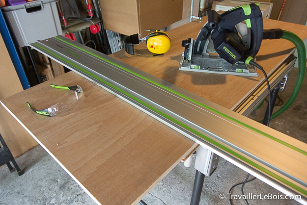 Festool TS55 et son rail de guidage