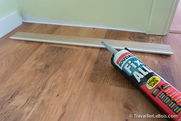 Comment poser des plinthes