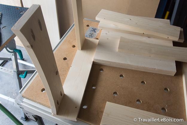 Fabriquer coffre a jouets en bois
