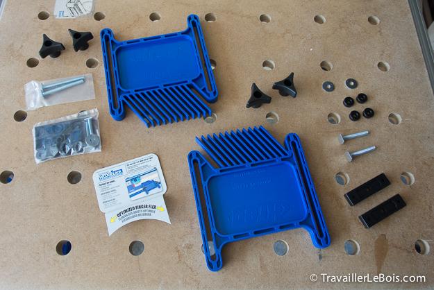 Peignes pour défonceuse sous table Kreg