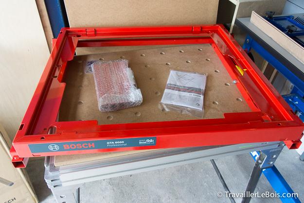 Piètement Bosch GTA 6000