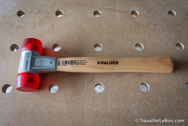 Maillet HALDER Baseplex