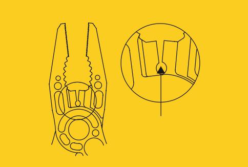 Coupe-fil Leatherman Skeletool