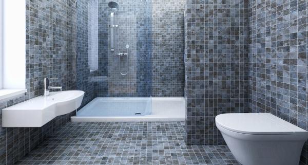 pose d un carrelage de salle de bain
