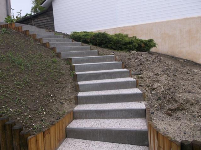 Prix D Un Escalier Exterieur Bois En Kit Metal Travaux Com