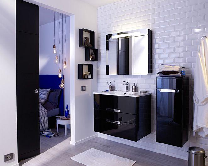 modeles de salle de bains compactes et modernes