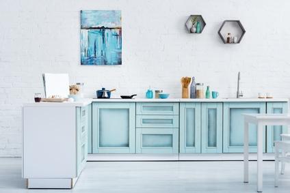 prix d une peinture de meubles cuisine