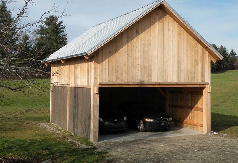 Prix De Construction D Un Garage En Bois