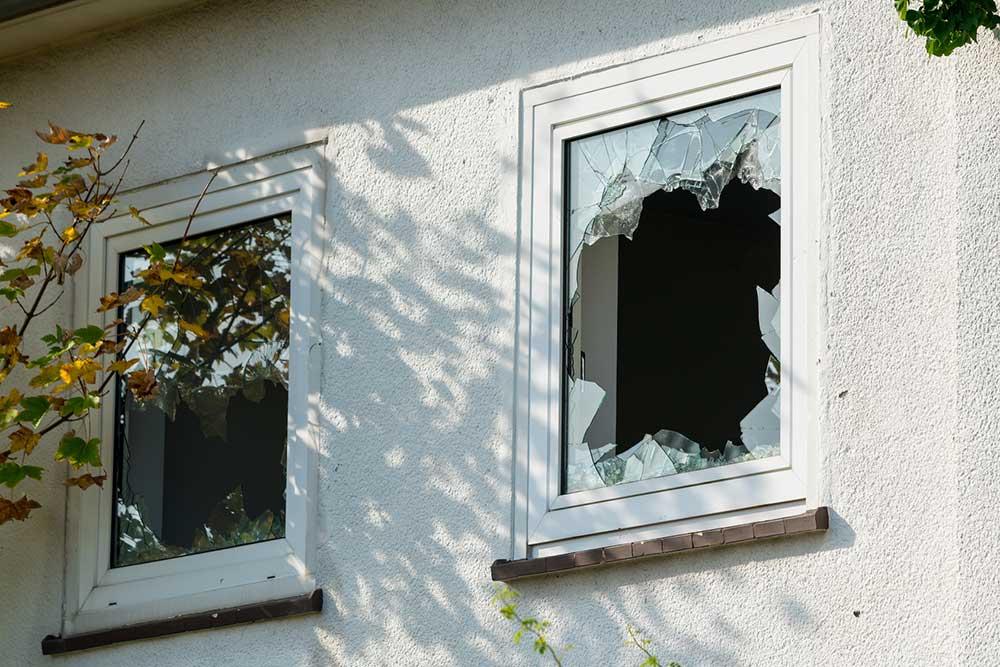 prix pour remplacer une vitre cassee