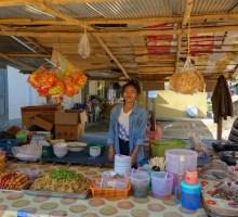Foot stall in Kengtung, Myanmar