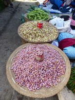 Beans on Nanpan market in the south of Inle Lake
