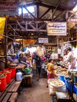 Market hall of Zeigyi Market in Mawlamyine