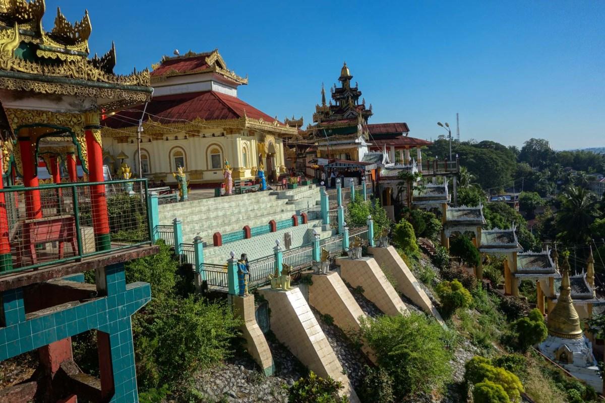 Kyaikthanlan pagoda in Mawlamyine