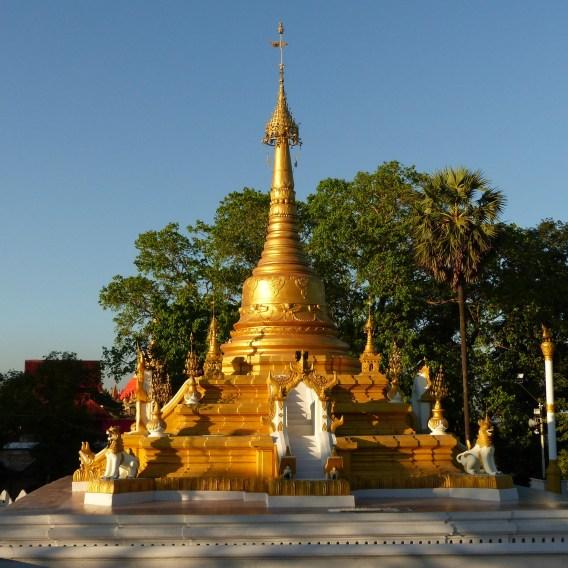 U Khanti pagoda in Mawlamyine