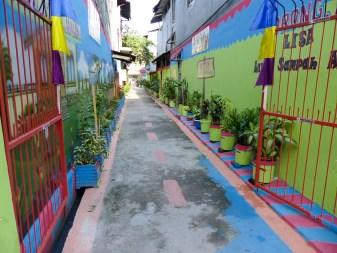 Makassar - view into backyard Christian Jansen & Maria Düerkop