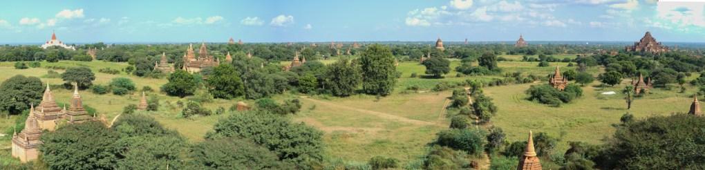 Panoramic view on Bagan plain Christian Jansen & Maria Düerkop
