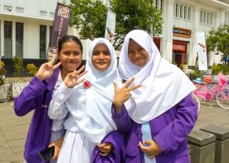 Jakarta - smiling girls Christian Jansen & Maria Düerkop