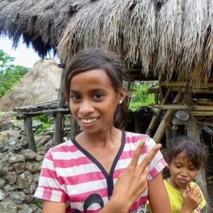Sumba - village girl Christian Jansen & Maria Düerkop