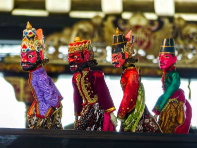 Yogyakarta - traditional puppets Christian Jansen & Maria Düerkop