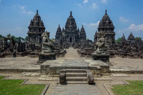 Yogyakarta - Prambanan temples: entry gate Christian Jansen & Maria Düerkop
