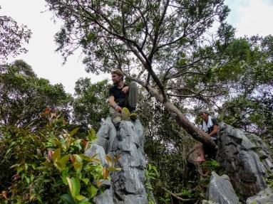 Mulu National Park - at the pinnacles Christian Jansen & Maria Düerkop