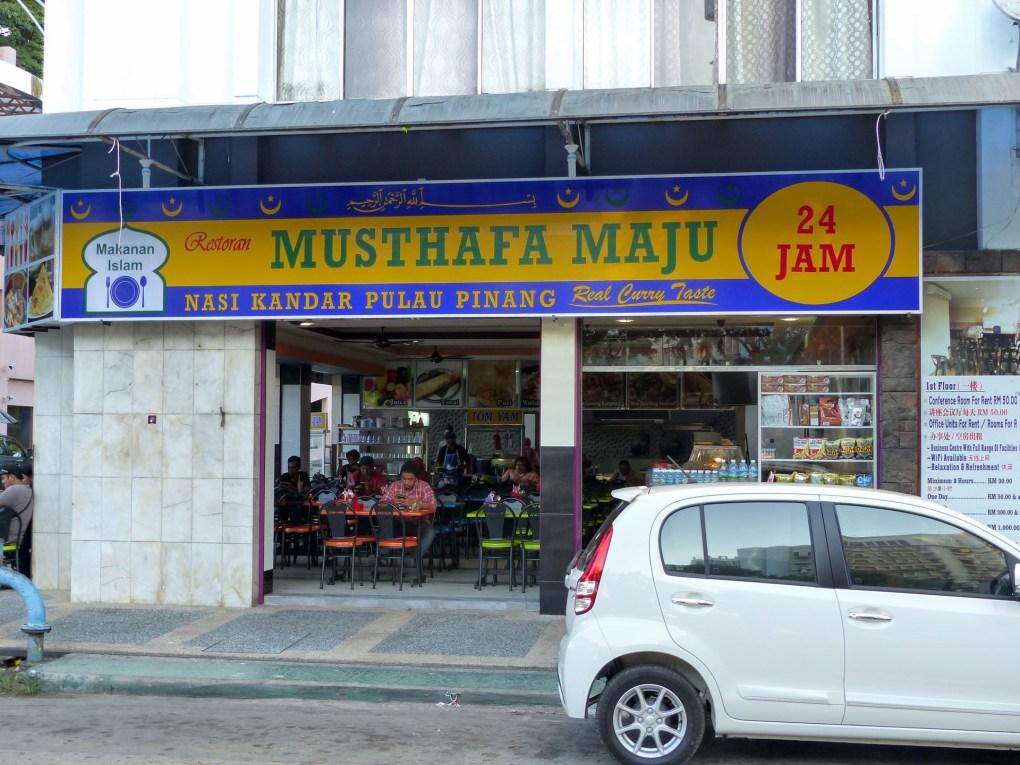 Kota Kinabalu - Musthafa Maju: best food in town! Christian Jansen & Maria Düerkop